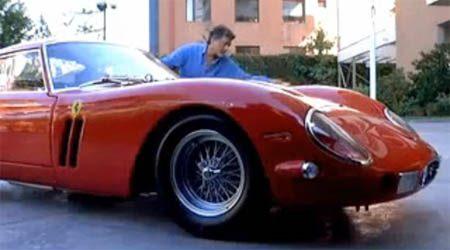 Ferrari GTO carwash