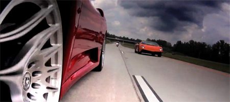 Ferrari F430TT vs Lamborghini LP570-4 SuperLeggera