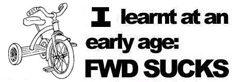 FWD sucks!