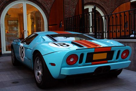 Ford GT Heritage Edition - Foto Jim Appelmelk