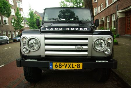 Land Rover Defender SVX 90 - Foto Jim Appelmelk