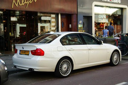 BMW Alpina B3 Biturbo Allrad Sedan - Foto: Jim Appelmelk