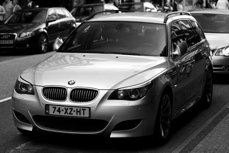 BMW M5 Touring E61 - Foto: Jim Appelmelk