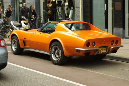 Chevrolet Corvette C3 Stingray Targa - Foto: Jim Appelmelk