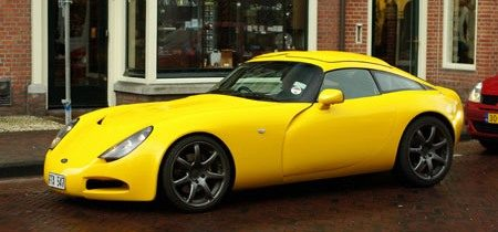 Yellow TVR - Foto: Jim Appelmelk