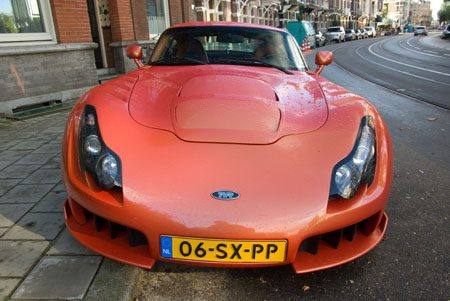 TVR Sagaris - Foto: Jim Appelmelk
