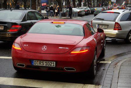 Mercedes-Benz SLS AMG - Foto: Jim Appelmelk