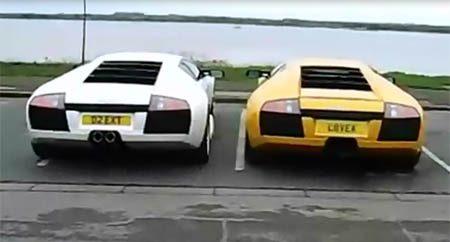 Lamborghini Murciélago replica