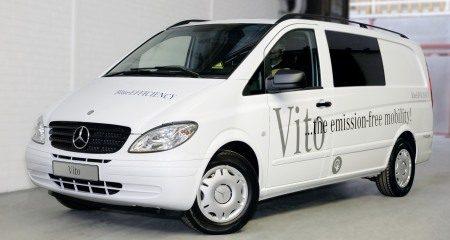 Elektrische Mercedes-Benz Vito