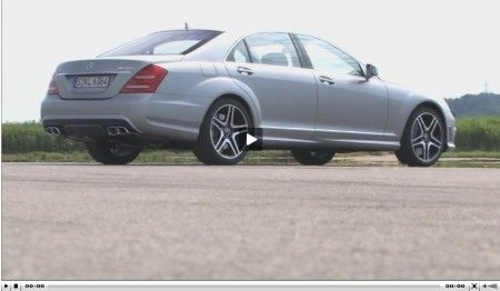 Mercedes S63 AMG video