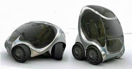 Mit Ontwikkelt Geinige Vouwbare Elektrische Stadsauto