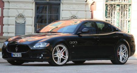 Maserati Quattroporte door Novitec