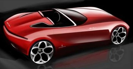 Pininfarina Spider concept uit 2010