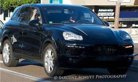 Porsche Cayenne model 2011