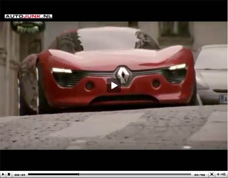 Renault DeZir video