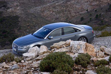 Audi A8 quattro FSI