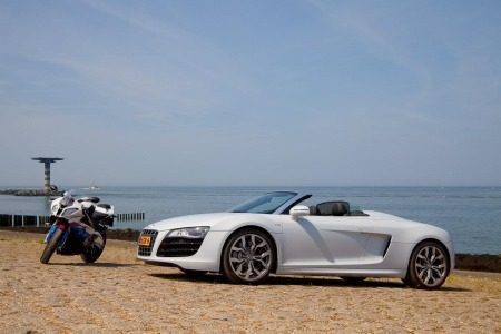 Audi R8 Spyder & friends