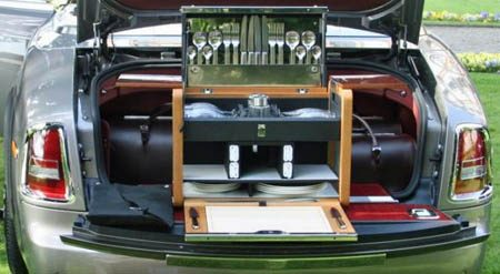 Rolls-Royce Bespoke picknickmand