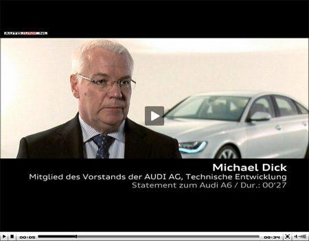 Michael Dick over de nieuwe A6