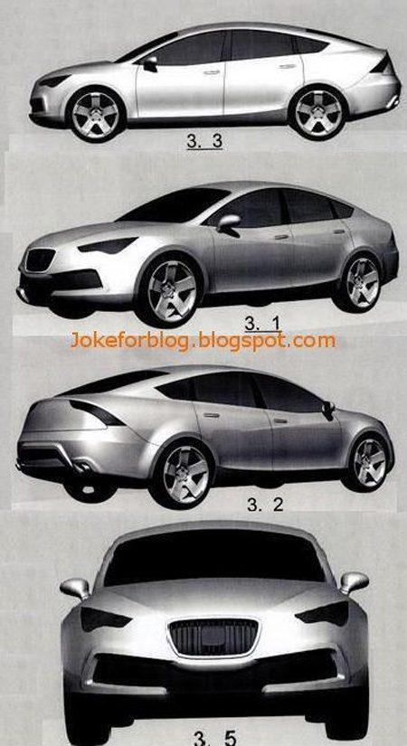 Seat Schetsen Sportback