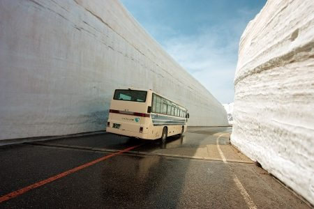 Zo gaat men in Japan om met sneeuw