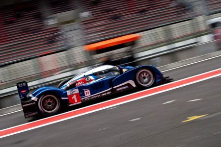 LMP1 Peugeot op Spa Francorchamps