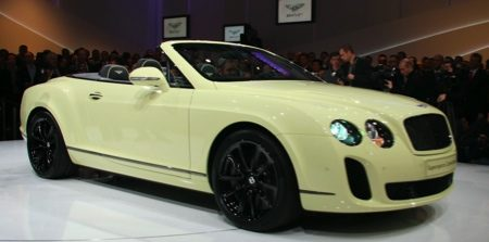Bentley Supersports Convertible