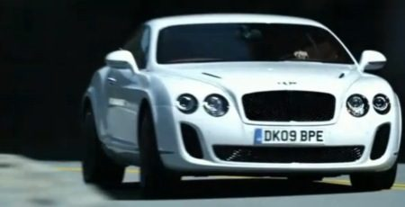 Bentley Supersports Metsaus