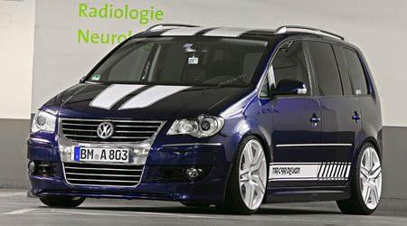 Volkswagen Touran Racing - MR Car Design