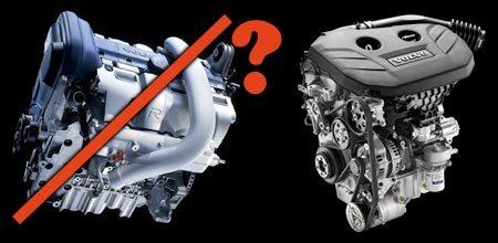 Volvo viercilinder p0wns vijfclinder?