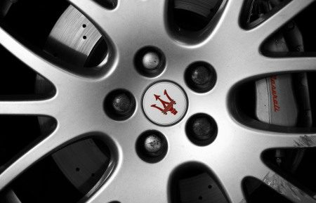 Maserati Gransport wheel