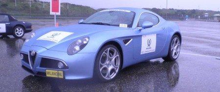 Alfa Romeo 8C Competizione Avio Blu Metallic