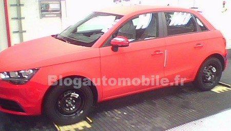 Audi A1 Sportback betrapt in fabriek