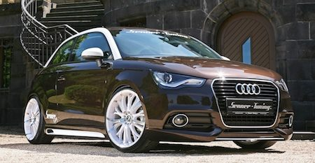 Senner doet de Audi A1