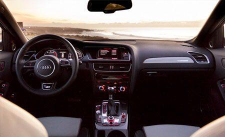 Audi S4 2012 interior