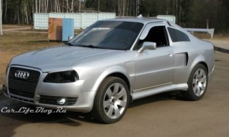 Russische Audi Coupe