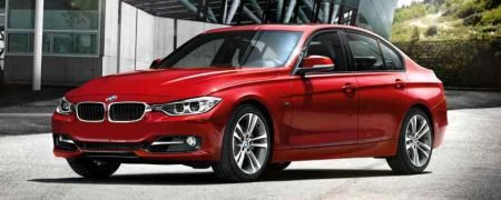 BMW 3 Serie (F30) Officieel, rood