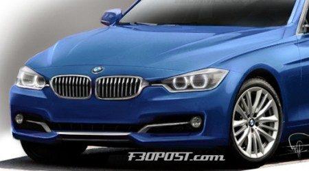 BMW 3 Serie (F30) Schets - Neusje