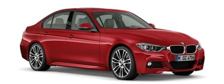 BMW 3 Serie M Sport Melbourne Red