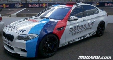 BMW M5 (F10) Safety Car - Moto GP
