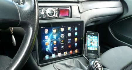 BMW met iPhone en iPad