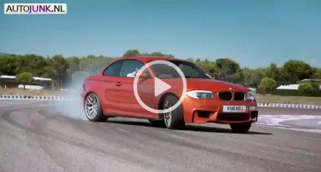 Jeremy Clarkson in de BMW 1M