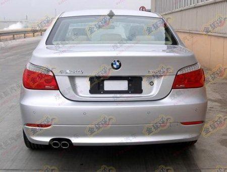 kontje van de BMW E60 blijft hetzelfde?