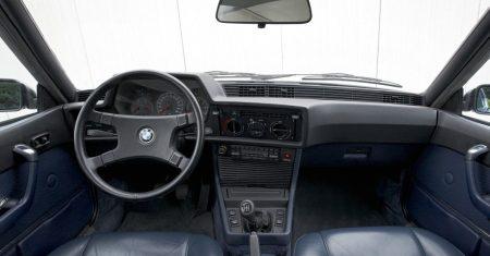 BMW 6 Serie E24 interieur