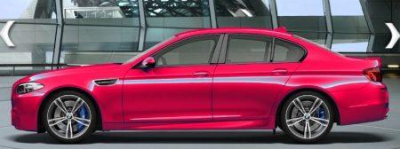 Doe de M5 maar roze/rood