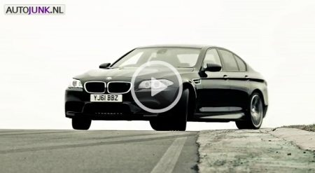 How to drive a BMW M5