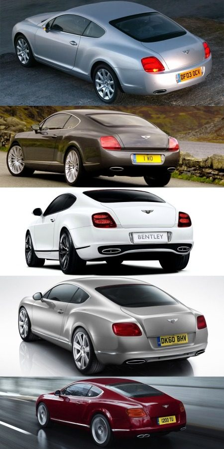 Bentley Continental GT bips