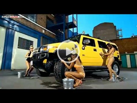 Bikini carwash video