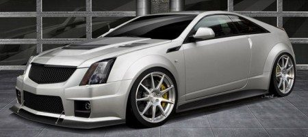 Cadillac CTS-V Coupe Hennessey V1000 rendering