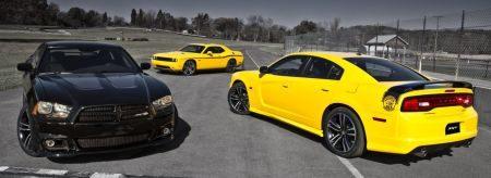 Dodge Challenger Yellow Jacket & Dodge Charger Yellow Bee